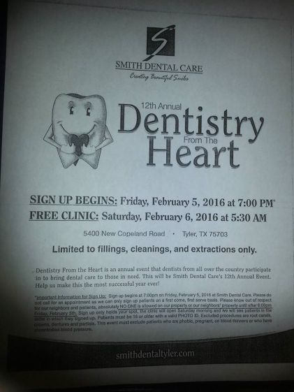 Free Dental Health Clinic