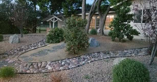 day 6 rock garden